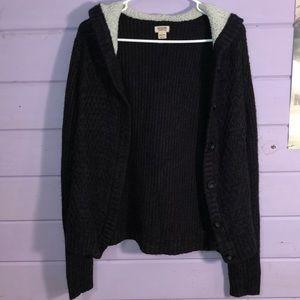 Knit Mossimo black Jacket! XXL!